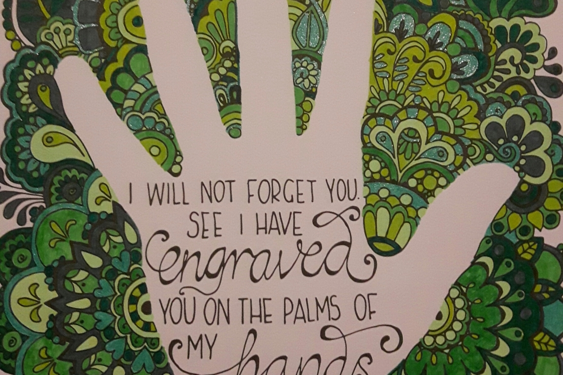 """""""I will not forgetyou"""""""